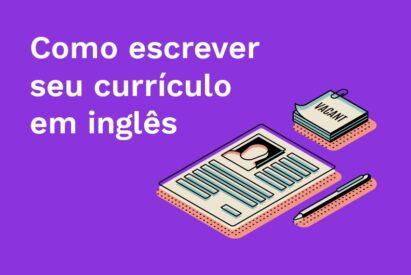 como escrever curriculo em ingles